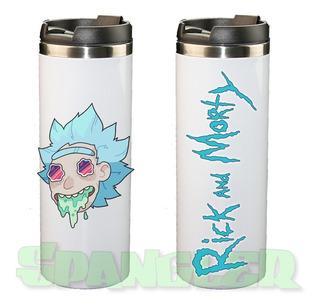 Termo Cilindro Vomitando Rick & Morty