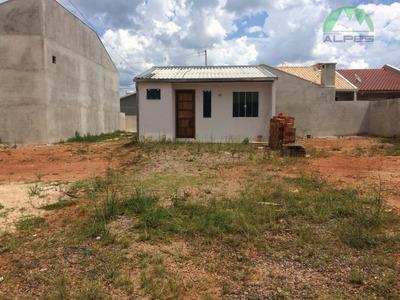 Casa Para Alugar, 43 M² Por R$ 450/mês - Nações - Fazenda Rio Grande/pr - Ca0363