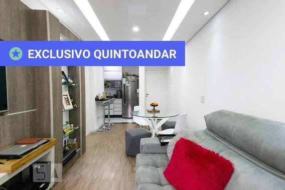 Apartamento No 16º Andar Mobiliado Com 1 Dormitório E 1 Garagem - Id: 892957738 - 257738