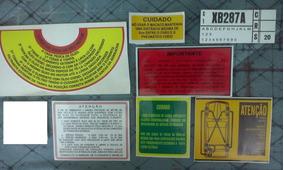 Manual Variant Kombi Emblema Brasilia Tl Karmann Guia Fusca