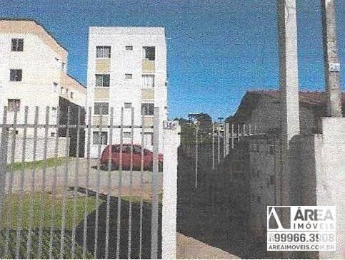 Apartamento À Venda Por R$ 77.588,02 - Vila São José - Colombo/pr - Ap1114