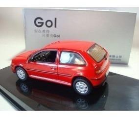 Volkswagen Gol G3 2003 Escala 1.43 Miniatura Carros Coleção