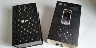 Celular Lg Kf 510 ,deslizante, Usado Com Todos Os Acessórios