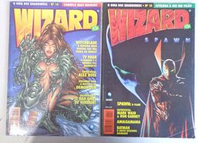 Wizard Brasil N 14 E 15 Ed Globo