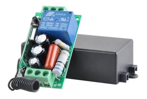 Interruptor Rele Receptor Aprendizagem Automação 315mhz 220v