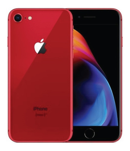 Usado: iPhone 8 64gb Vermelho- Laol