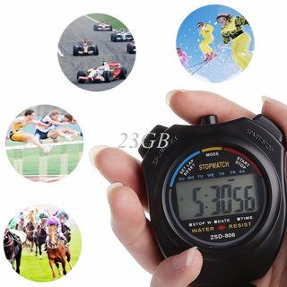 Cronômetro Esportes Profissional Com Display Digital