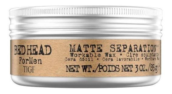 Cera Matte Separation Tigi Bed Head For Men Capilar 83 Grs