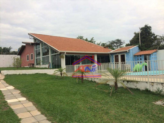 Chácara À Venda, 1000 M² - Condomínio Bom Jesus De Pirapora - Campinas/sp - Ch0020