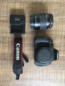 Canon T3i Com Lente E Bolsa