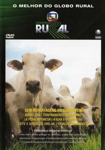 Imagem 1 de 2 de Dvd O Melhor Do Globo Rural 25 Anos - Mário Zan, Confinament