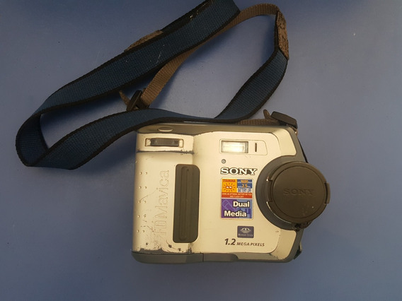 Camera Digital Sony Mvc-fd100 Vintage (no Estado)