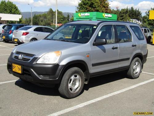 Honda Cr-v Mt 2400cc Aa 4x4 Fe