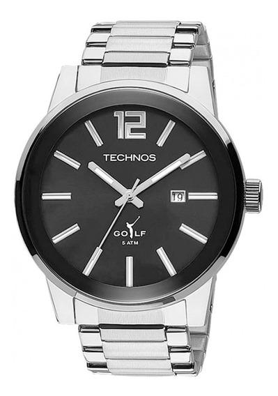 Relógio Masculino Technos Barato Prata Aço 2115tu/1p Oferta