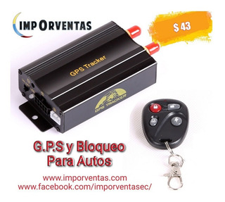 Gps Y Bloqueo Para Autos