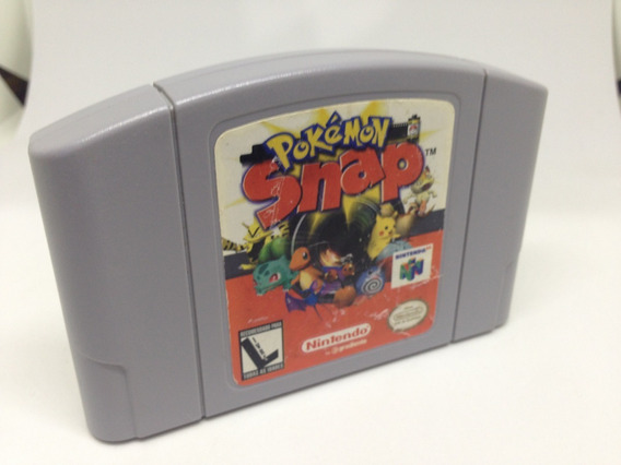 Pokemon Snap - Nintendo 64 - Cartucho Original - Gradiente