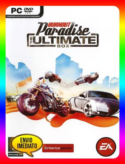 Burnout Paradise Pc - Origin Key (envio Já)
