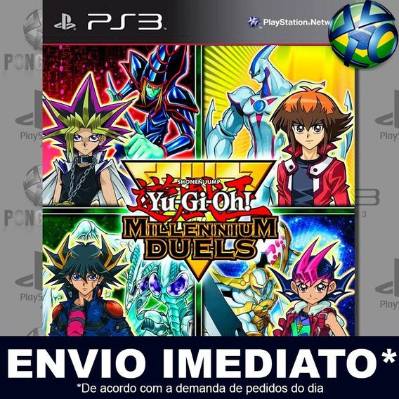 Yu-gi-oh! Millennium Duels Ps3 Psn Jogo Em Promoção Play 3