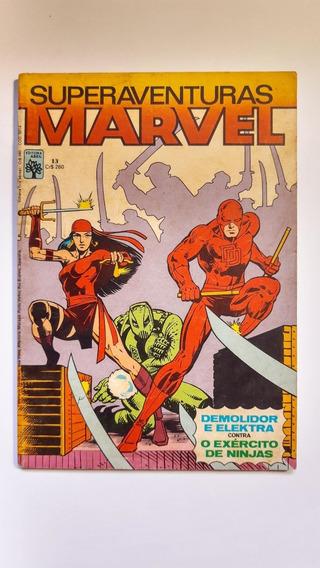 Superaventuras Marvel - Abril N.º 13 Ano 1983 - Frete Grátis