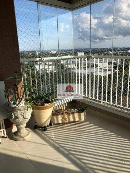 Apartamento Com 3 Dormitórios À Venda, 100 M² Por R$ 610.000,00 - Jardim Das Indústrias - São José Dos Campos/sp - Ap2711