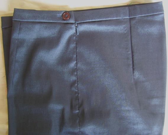 Pantalón Talla 10 Croft&barrow Dama Casual Color Azul Tornas