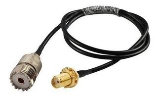 Cable Adaptador Para Antena De Handy Baofeng Hembra Sma A Hembra Uhf Yaesu Evita Romper El Conector Del Handy