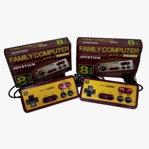Joystick Family Game 8 Bit X2 Unidades Apevtech Once