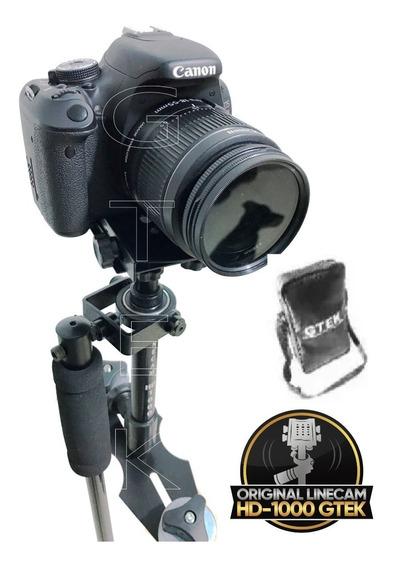 Steadicam Linecam Hd-1000 Gtek Estabilizador De Imagem Dslr