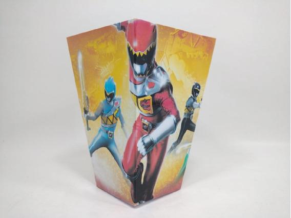 Power Rangers Dino Charge - Cono Para Pochoclos (pack X50)