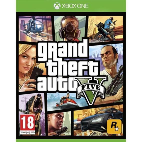 Jogo Grand Theft Auto V Gta Xbox One Pi