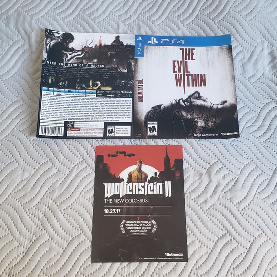 Encarte: The Evil Within - Ps4