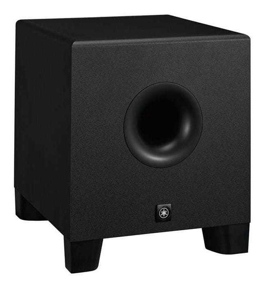 Sub Monitor Yamaha Hs8s Ativo 150w Preto + Nfe + Garantia