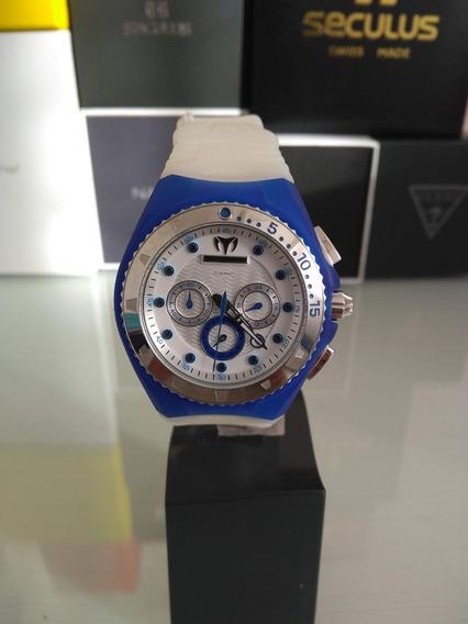 Relógio Technomarine Modelo Feminino Caixa Azul