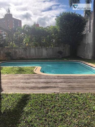 Casa Com 5 Dormitórios À Venda, 780 M² Por R$ 3.800.000,00 - Alphaville 0 - Barueri/sp - Ca0708