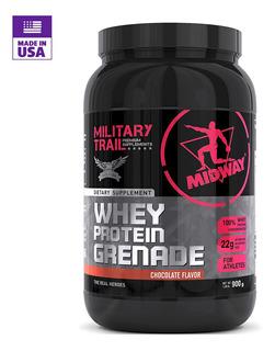 Proteína Whey Midway Grenade Morango Chocolate Baunilha Wpc