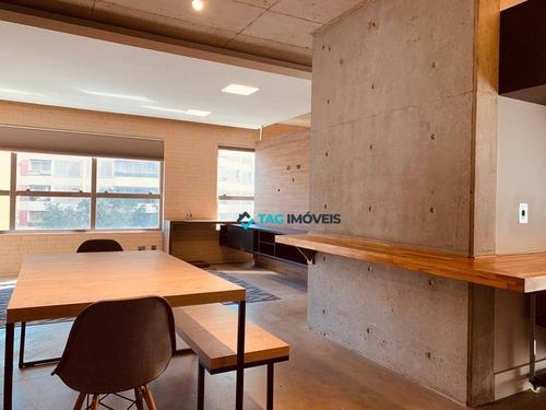 Imagem 1 de 19 de Apartamento Com 1 Dormitório À Venda, 70 M² Por R$ 850.000,00 - Cambuí - Campinas/sp - Ap1722