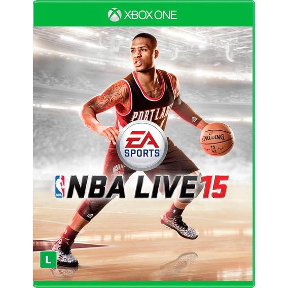 Nba Live 15 - Xbox One (mídia Física) Lacrado