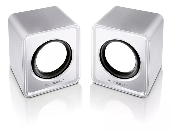 Caixa De Som Mini 2.0 3w Rms Usb Sp199 Multilaser