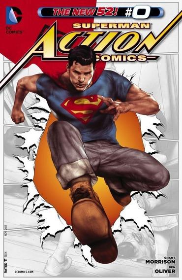 Action Comics Superman #2-4, 6-12, 0 New 52 (2011) Dc Comics