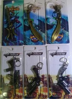 Chaveiros Armas E Espadas Em Metal