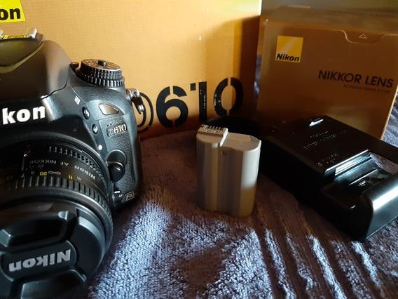 Nikon D610 Full Frame 50mm 1.8