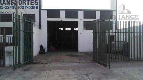 Barracão À Venda, 240 M² Por R$ 745.000,00 - Jardim Das Bandeiras - Campinas/sp - Ba0827