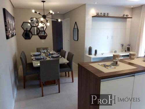 Imagem 1 de 15 de Apartamento Para Venda Em Santo André, Vila São Pedro, 2 Dormitórios, 1 Banheiro, 1 Vaga - Araexnat