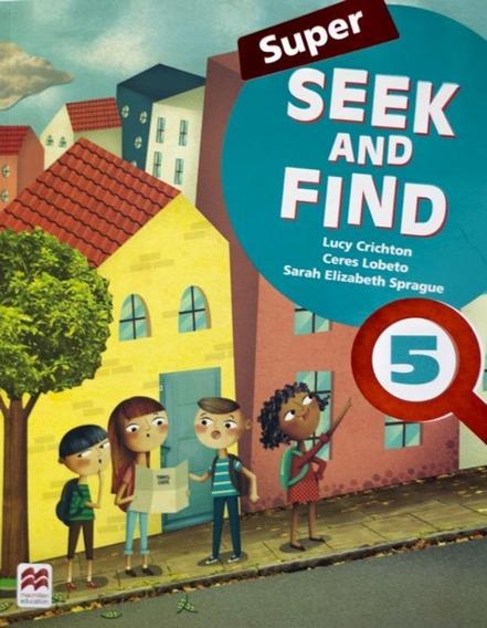 Super Seek And Find 5 Sb And Digital Pack - 2nd Ed