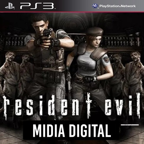 Resident Evil 1 Hd Remaster - Ps3 Psn*