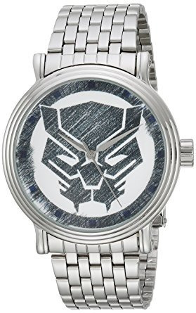 Nuevo Reloj Marvel Pantera Negra Clasico