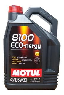 Aceite Motul 8100 Eco Nergy 5w30 X5l -100% Sintético- Original (envio Incluido)