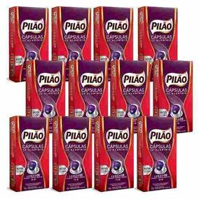Kit 120 Cápsulas De Aluminio Lungo 8 Café Pilão