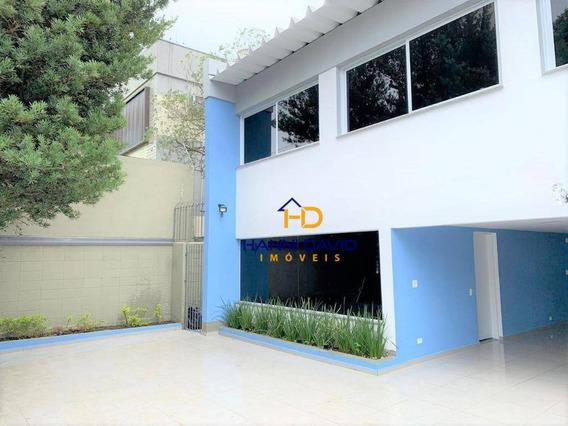 Excelente Sobrado Residencial De 400 M² Em Área Nobre Da Vila Mariana ! - Ca0316