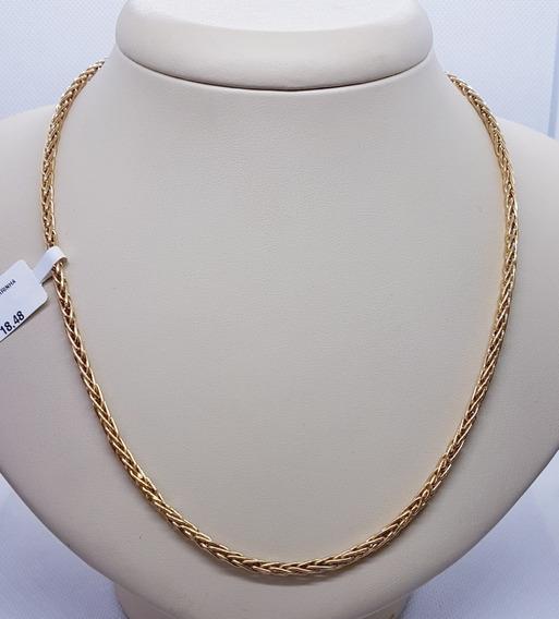 Corrente Ouro 18k Palmeira 11,20g Com 45cm 2,88mm De Largura